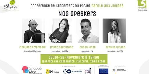 Conférence de lancement du projet Paroles aux Jeunes