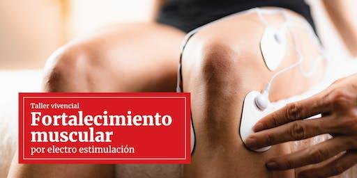 Taller vivencial: Fortalecimiento muscular por electro estimulación