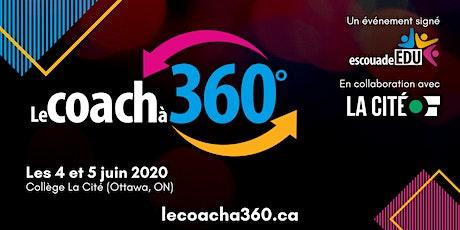 Le coach à 360° - Collège La Cité tickets