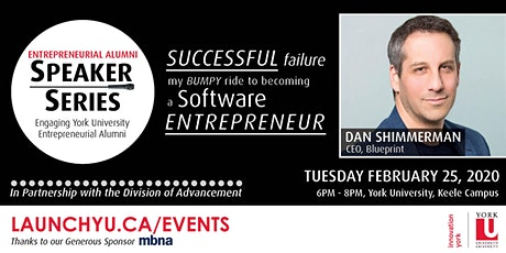 Entrepreneurial Alumni Speaker Series: Dan Shimmerman tickets