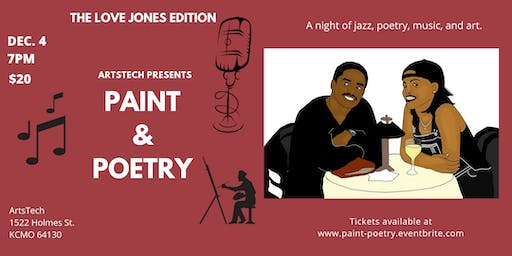 Paint & Poetry The Love Jones Edition