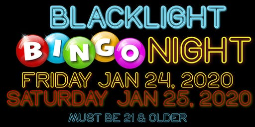 BlackLight Bingo Night