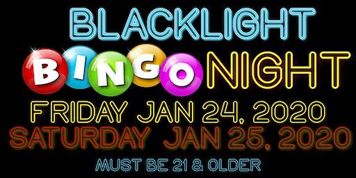 BlackLight Bingo Night