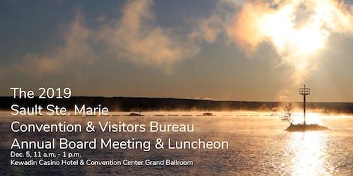Sault Ste. Marie Convention & Visitors Bureau Annual Meeting