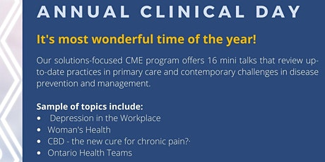 Hamilton Academy of Medicine's 103rd Annual Clinical Day  tickets