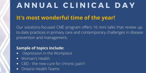 Hamilton Academy of Medicine's 103rd Annual Clinical Day