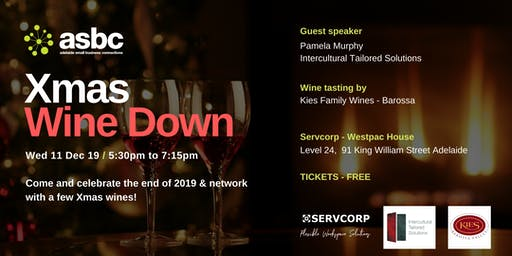 SOLD OUT!  Xmas Wine Down - End of 2019 Network Drinks