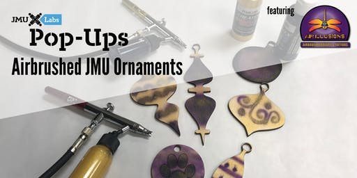 Pop-Up Workshop: Airbrushed Ornaments with Air Illusions Airbrush Body Art and Tattoos