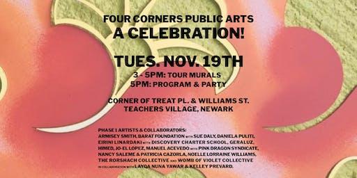Four Corners Public Arts: A Celebration!