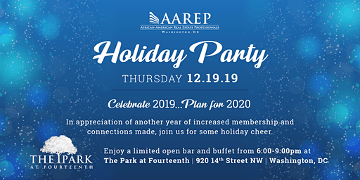 AAREP 2019 Holiday Party