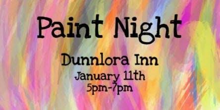 Paint Night at Dunnlora Inn