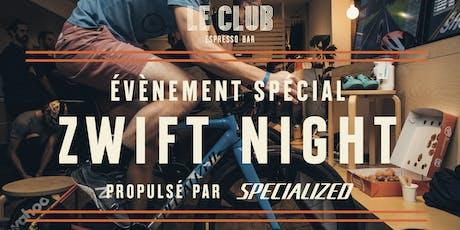 Zwift Night Édition 2020 - propulsé par Specialized billets