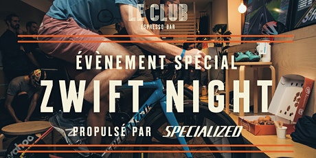 Zwift Night Édition 2020 - propulsé par Specialized billets