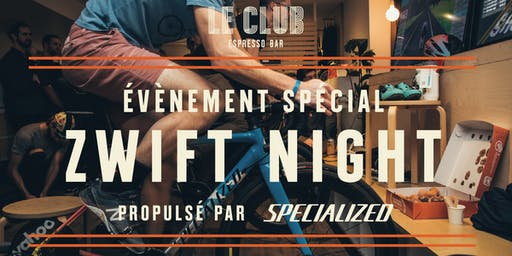 Zwift Night Édition 2020 - propulsé par Specialized