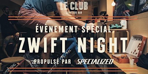 Zwift Night Édition 2020 - propulsé par Specialized