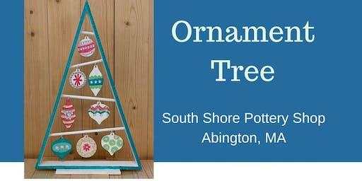 Wood Ornament Tree