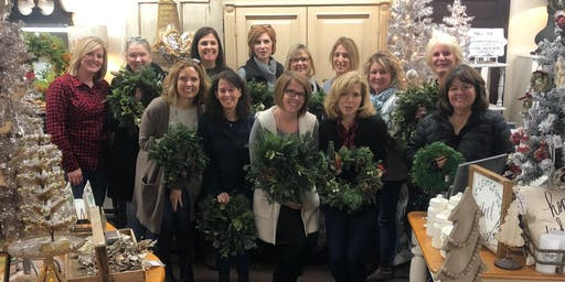Wreath Making Workshop with Viavi Farms