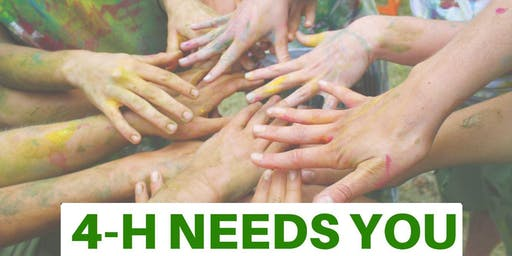 4-H Hands to Larger Service Workday