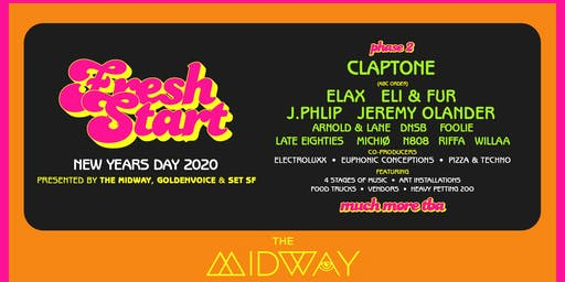 FRESH START: Claptone, Elax (Boys Noize), Jeremy Olander & More TBA