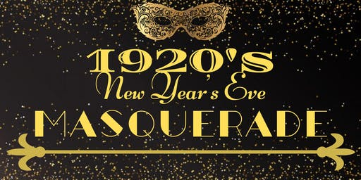 A New Year's Eve 1920's Masquerade!