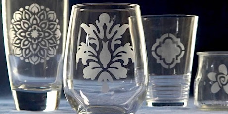 Pinterested: Glass Etching tickets