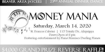Money Mania: Jaycees Annual Dinner Dance