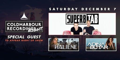 Avalon Presents Coldharbour Night: Super8 & Tab, Haliene, Adina Butar