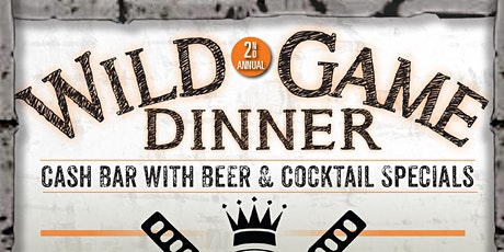 Wild Game Dinner tickets