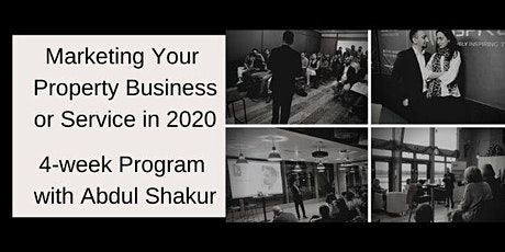 Marketing Your Property Business in 2020 - 4 Week Program tickets
