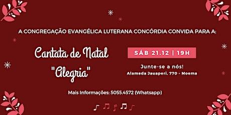 Cantata de Natal: ALEGRIA! ingressos