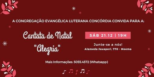 Cantata de Natal: ALEGRIA!