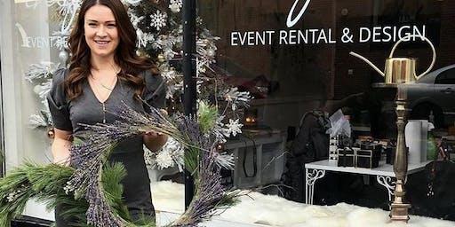 Wine & Wreath Workshop