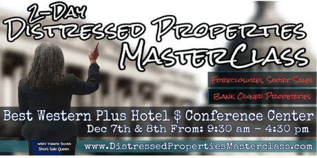 Foreclosures, Short Sales & Bank Owned 2 Day Master-Class tickets