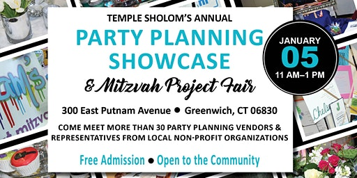 2020 Party Planning Showcase and Mitzvah Project Fair