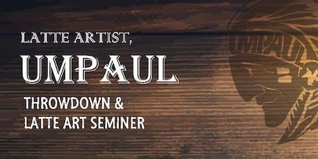 Latte Art Seminar with Latte Artist, Um Paul tickets