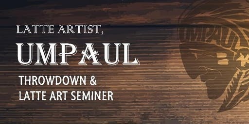 Latte Art Seminar with Latte Artist, Um Paul