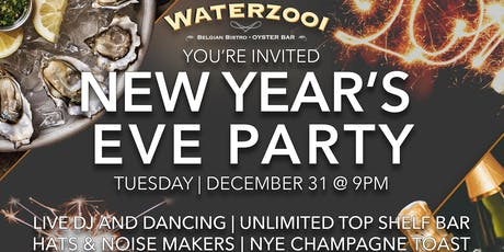 New Year's Eve | Waterzooi Belgian Bistro & Oyster Bar tickets