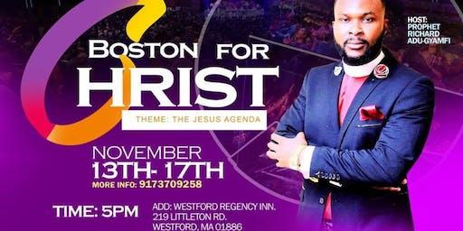 BOSTON FOR CHRIST