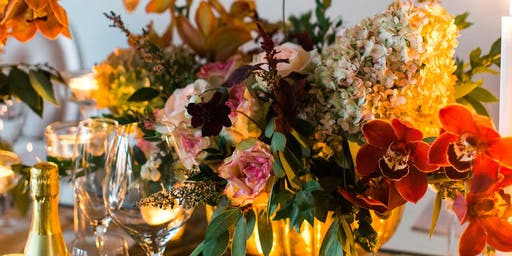 Floral Arranging with LOLA Wines - Red Wine