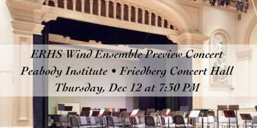 ERHS Wind Ensemble Preview Concert at Peabody