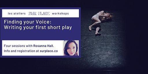Finding your Voice: Writing your first short play