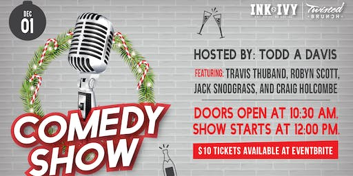 Ink N Ivy Present's: Twisted Brunch - Comics Come Home for the Holidays