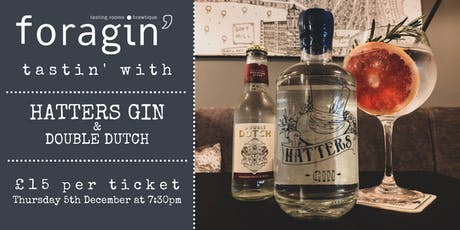 Hatters Gin Tasting tickets