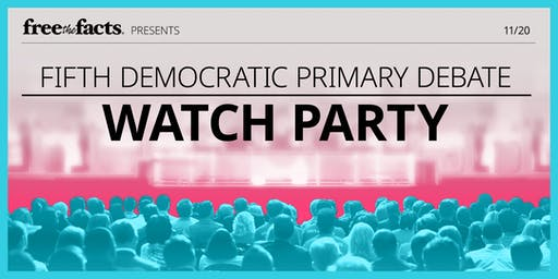 Free the Facts Debate Watch Party @ UMass Amherst