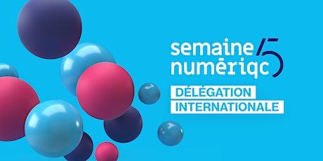 Forfait délégation - Semaine numériQC 2020 billets