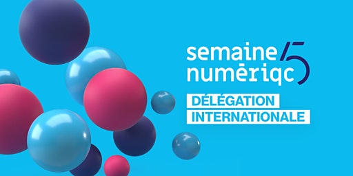 Forfait délégation - Semaine numériQC 2020