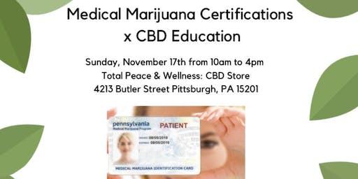 Medical Marijuana Certification X CBD Education
