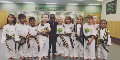 November Little Ninja Belt Testing