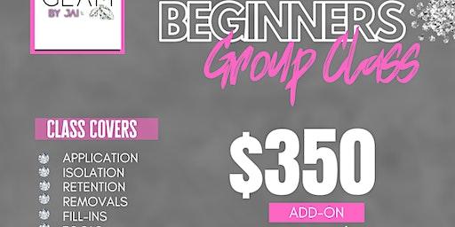 BEGINNER CLASSIC LASH GROUP CLASS