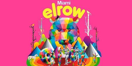 elrow Art - Kaos Garden Art Basel 2019 Miami